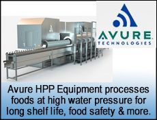 Avure HPP High Pressure Pasteurization for Food