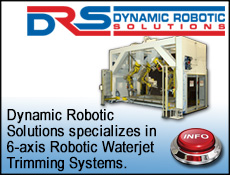 DYNAMIC ROBOTIC SOLUTIONS WATERJET CUTTING