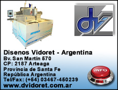 Disenos Vidoret Waterjet cutting systems