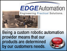 Edge Automation custom robotic waterjet cutting