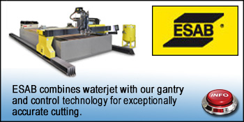ESAB WATERJET CUTTING
