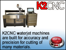 K2 CNC Waterjet cutting systems
