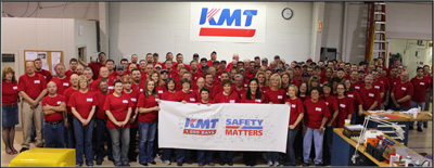 Safety Matters at KMT Waterjet!