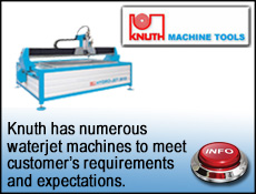 Knuth waterjet cutting machines