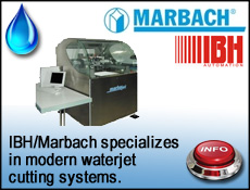Marbach & IBH Automation design waterjet cutting systems