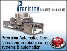 Precision Automated Tech for robotic waterjet cutting