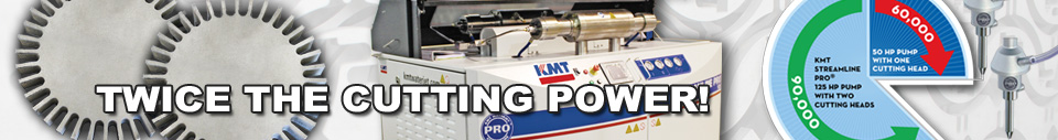 MT Waterjet PRO 90000psi  Pumps