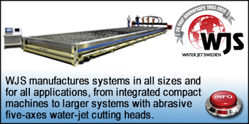 Waterjet Sweden Cutting systems