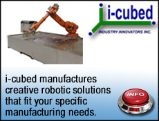 i-cubed for creative robotic cutting solutions