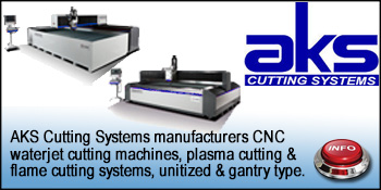 AKS WATERJET CUTTING TABLES