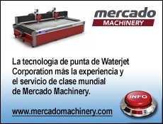 MERCADO distribuidor exclusivo de Waterjet en Mexico-R