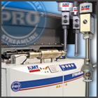 KMT PRO® 90,000 PSI/6,200 bar Intensifier Pumps & Abrasive Cutting Heads