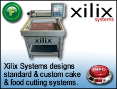 Xilix Waterjet cake cutting systems