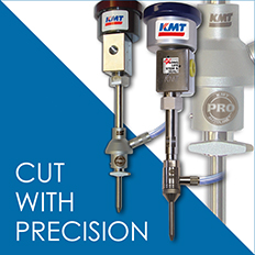 KMT Waterjet offers cutting nozzles that deliver high