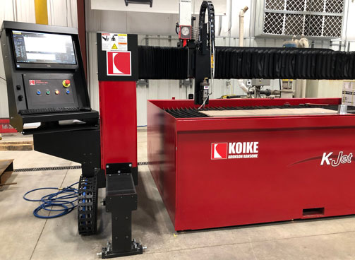 KOIKE-WATERJET-SMALL-FORMAT-CUTTING-TABLE