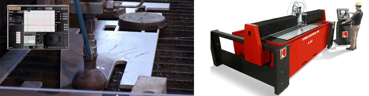 Koike waterjet system  Cut Metal, Aluminum Cutting, Steel Cut